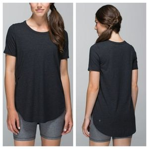 Lululemon Om Tee Headhered Black